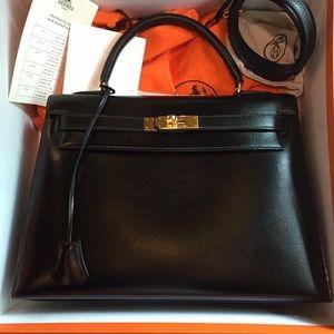 Hermès handbags.